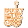 Rocky Top 50th Adhesive Decal