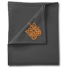 Rocky Top 50th Charcoal Cotton Blanket