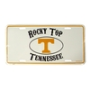 Metal License Plate - Rocky Top